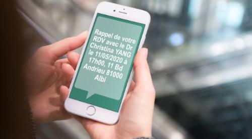 Rappel de rdv sms et email